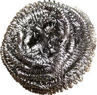 Губка для посуды металлическая 15 гр спираль сталь оцинк VETTA, арт.: 441113