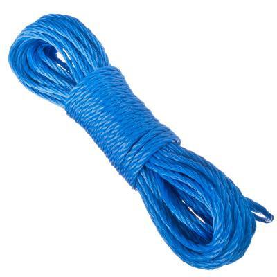 Веревка капроновая, 20м x 6мм, 4 цвета ВЕСЕЛЫЙ РОДЖЕР, арт.: 453093