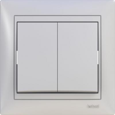 Выключатель  СП2  10А 250В LEDARD Novus, арт.: 6078616