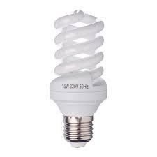 Лампа энергосберегающая FORZA 15W 4100K E27 полн.спираль, арт.: 925019